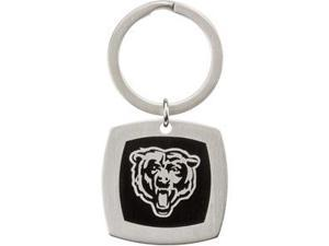 Chicago Bears Logo Keychain in Stainless Steel