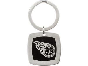 Tennessee Titans Logo Keychain in Stainless Steel