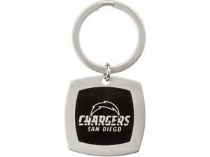 San Diego Chargers Logo Keychain in Stainless Steel