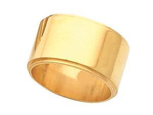 Edge Flat Wedding Band (10.00 mm)
