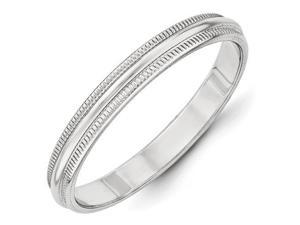 Milgrain Wedding Band