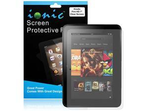 Ionic Screen Protector (Invisible) Fits Amazon Kindle HD 7 inch  (3-pack)