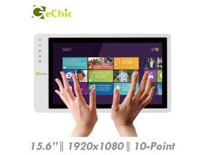 "Gechic On-Lap 1502i 15.6"" Full HD 1080p IPS LCD Touch Screen Portable Monitor HDMI VGA Input, Built In Speakers"