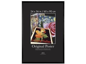 MCS Original Poster Frame in Black - 24 x 36 Inches