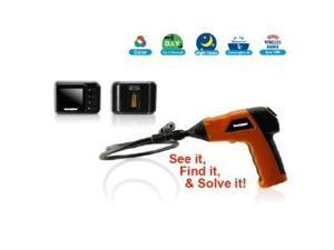 SecurityMan ToolCam inspection camera handgrip with LED light and detachable wireless LCD monitor