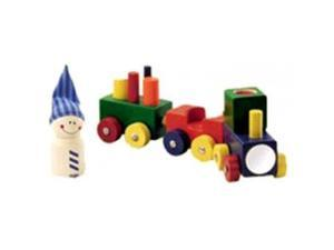 Baby's First Train - Lokmock Train and Building Blocks
