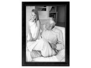 MCS INDUSTRIES 42303 4x6 FASHION BULLNOSE WOOD PICTURE FRAME - BLACK FINISH