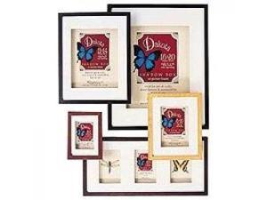 """MCS Dakota Wood Shadow Box Series, Wood Picture Frame 16 x 20"""" With a 11x14"""" Opening Photograph, 5/8"""" Width, Color: Black."""