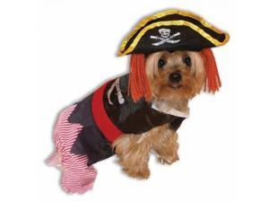 Forum Novelties 64043 Pet Pirate Costume Small - For Dogs & Cats