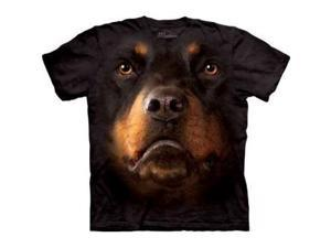 The Mountain - Youth Rottweiler Face T-Shirt, Size: X-Large, Color: Multi