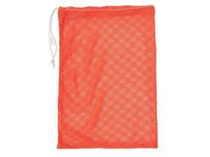 Champion Sports Mesh Equipment Bag (Orange, 12 x 18-Inch)