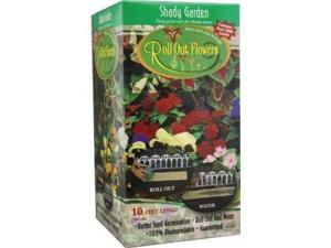 Garden Innovations SG1000 10-Inch by 10-Foot Roll Out Flowers, Shady Garden