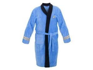 Star Trek Adult Spock Bath Robe Costume Officially Licensed, One Size