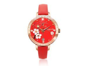 Ingenuity NCL0009-01 Engagement with Time - The Twelve-Month Flora Series Watch Collection - January