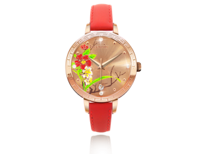 Ingenuity NCL0009-11 Engagement with Time - The Twelve-Month Flora Series Watch Collection - November