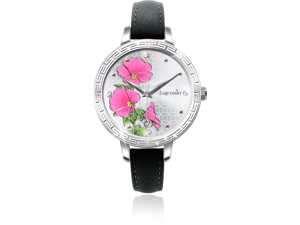 Ingenuity NCL0009-07 Engagement with Time - The Twelve-Month Flora Series Watch Collection - July