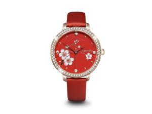 Ingenuity NCJ0009-01A Rose Gold Stones Watch -Flower Classic, The First