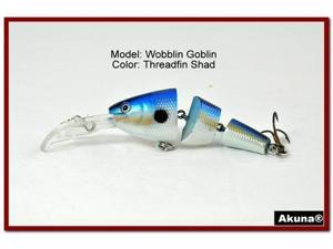 Akuna Wobblin Goblin 3.5 Jointed Fishing Lure
