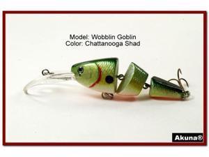 Akuna Wobblin Goblin 3.5 Jointed Fishing Lure