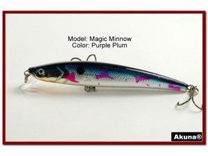 """Akuna Magic Minnow 4.3"""" Topwater Fishing Lure"""