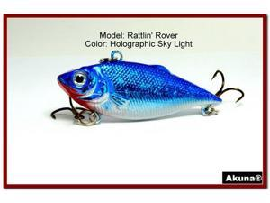 Akuna Rattlin' Rover Lipless Series 2.5 inch Sinking Lure