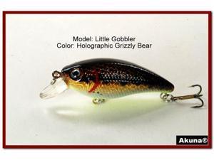 """Akuna Little Gobbler 2.9"""" Crankbait Fishing Lure"""