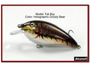 "Akuna Fat Boy 3.2"" Crankbait Fishing Lure"