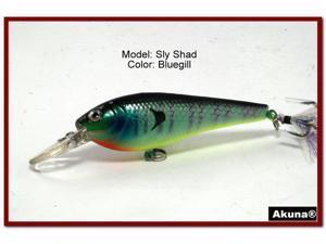 "Akuna Sly Shad 3.5"" Crankbait Fishing Lure"