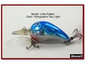 "Akuna Little Rattller 2.3"" Crankbait Fishing Lure"