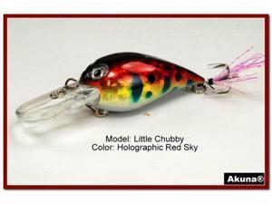 "Akuna Little Chubby 3"" Crankbait Fishing Lure"