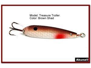 "Akuna Treasure Troller 3"" Trolling Spoon Fishing Lure"