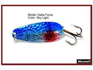 "Akuna Delta Force 2.75"" Spoon Fishing Lure"