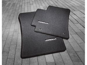2009 Toyota Corolla Carpet Floor Mats - Dark Charcoal
