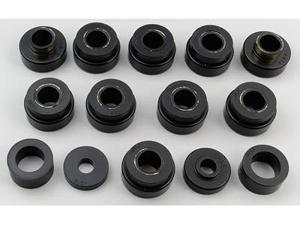 Energy Suspension 3.4166G Body Mount Set&#59; Black&#59; Performance Polyurethane&#59;