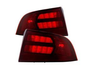 xTune ALT-JH-ATL04-OE-RSM OEM Style Tail Lights-Red Smoked 9030833