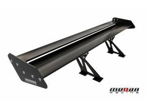 Megan Racing MR-AS-GT56BL GT Type Aluminum Spoiler- 56in Black