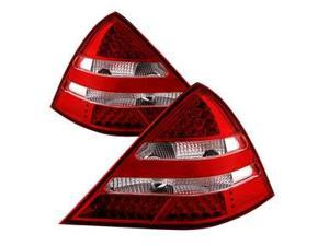 xTune ALT-JH-MBR17098-LED-RC LED Tail Lights R171 AMG Look-Red...
