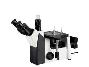 AmScope 50X-640X Inverted Trinocular Metallurgical Microscope