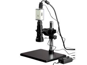 11X-80X Inspection Zoom Microscope + VGA Video Camera