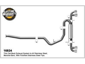 Magnaflow Performance Exhaust Stainless Steel Cat-Back Performance Exhaust System