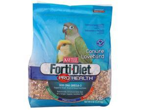 Kaytee Products Inc Forti-Diet Pro Health, Conure/Lovebird, 5 Pound - 100502065
