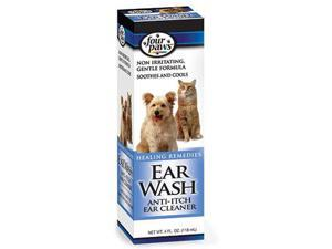 Ear Wash For Dogs & Cats -  4 oz.