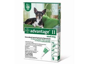 Advantage Flea Control for Dogs, Puppies Under 10Lbs 4 Month Supply - GREEN-10-4