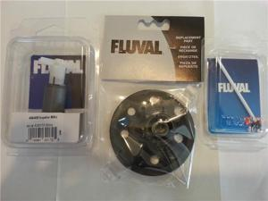 Fluval 404 405 Filter Complete Tune Up Kit w/ Impeller , Shaft, Impeller Cover