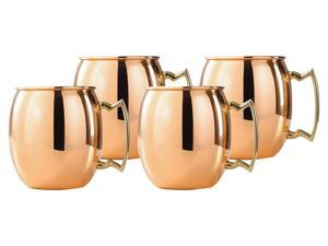 Moscow Mule Solid Copper Mug 18oz - Pack of 4