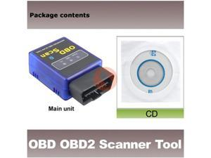 MINI-Bluetooth  Software OBD OBD2  CAN-BUS Scanner Tool Read diagnostic trouble codes