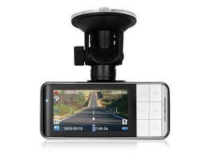 "TaoTronics Car Dash Cam HD 1080P Wide Angle with G-Sensor WDR Night Mode 2.7"" Screen"