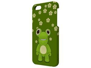 Choicee X Qee for Apple iPhone 5 Cover Case with Screen Protector Frogie (Retail)