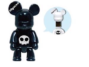 Choicee X Qee Bear 8GB USB 2.0 Flash Drive Black