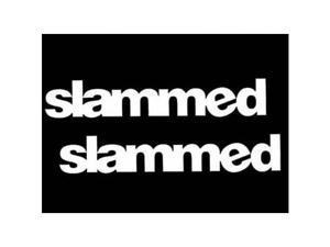 "(2) iJDMTOY 6"" Cool JDM Slammed illest Stance FLUSH Drift Race Die-Cut Decal Vinyl Stickers"